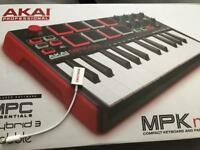Akai MP3 mini keyboard beat pad