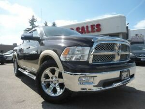 2011 RAM 1500 Laramie 4WD Crew Cab LARIMIE NAV SUNROOF LEATHER B