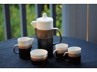 Retro Coffee Set for two