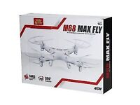 New White M68 MAX FLY 4CH drone Remote Control QuadCopter 360 Degrees drome just £30 Only!!