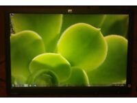"""22"""" HP widescreen LCD monitor for PC / Dual Screen / Laptop / CCTV SECURITY CAMERA - DELIVERY"""