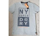 SuperDry Men's T-shirt, New with tags, Size - Medium, £10ono