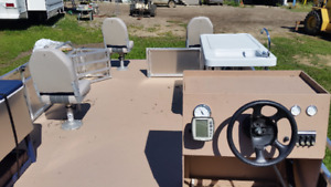 New 23 ft. pontoon { Possible trade}