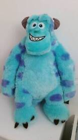 Monsters University toy and bedroom accessorie bundle