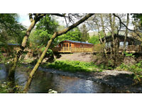 Holiday Rental - Riverside Lodge situated on the River Devon, Dollar, Clackmannanshire