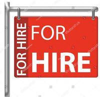 Professional General Contractor Available For Hire