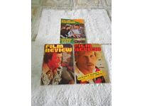 3 x Vintage Film Review Magazines from 1977.