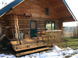 Off Grid Log Home for rent