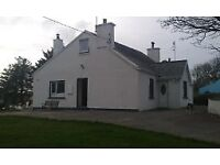 Donegal Holiday Cottage - 4 bedroom -Family-Friendly-Pets Welcome-Gaeltacht Area Gweedore
