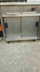 Commercial hot plate or food warmer fully working with guaranty