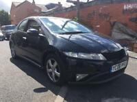 2008 HONDA CIVIC CDTI BLACK GOOD RUNNER