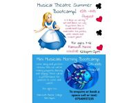 Musical Theatre Summer Workshops for 4-12 year olds! Under the Sea and Alice in Wonderland themes