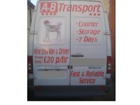 Man and van hire from £15/storage available/7days/short notice/removals/collection/delivery/cheap.