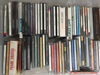 Job Lot Approx 190 cd's Pop Rock Dance Jazz Classical for car boot or resale