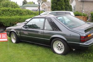 1983 T-Top Fox Mustang