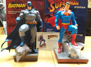"""Full Size 12"""" Batman/Superman Statue by Jim Lee Limited Edition"""