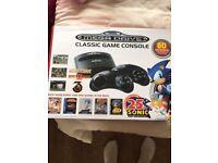 Sega mega drive classic console with 80 games