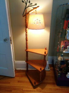 Bridge Lamp with Spiral Shelf - Delivery