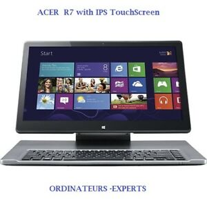 ACER R7-572 with IPS technology TOUCHSCREEN Core i5 8 GB 750GB