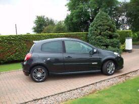 2010 RENAULT CLIO 1.5DCI GT 3 DOOR*GREAT SPEC*LOW INSURANCE SPORTY CAR.