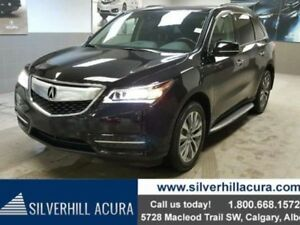 2015 Acura MDX Tech Package SH-AWD *Navi,DVD,Fronts & Second Row
