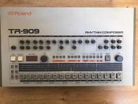 Roland Tr-909 Rhythm Composer - Analog Drum Machine Tr909 Tr808