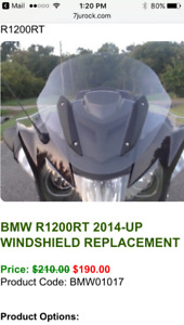 2014-17 R1200RT Windscreen