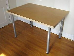 "IKEA Table Top and Legs 160cm x 80cm (32x63"")"