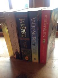 Books £4 each