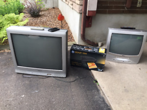 Tv's and printer for sale.
