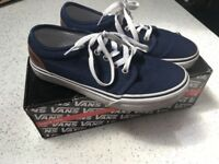 For sale Boys Vans Trainers size 5.