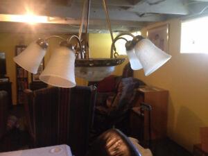 luminaire de salle à diner