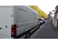 North to South Luton/Large transit Van hire for Removals or Haulage