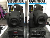 Equinox Fusion Spot MKII Only used twice come in orginal boxes with cables and instructions