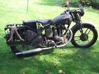 Ariel W/NG 350cc, 1943