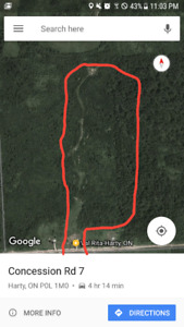48 acres of land for sale in val rita ontario canada