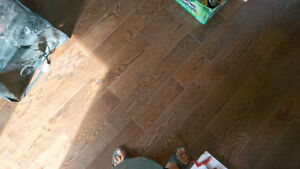 Plancher bois franc Moka en chêne