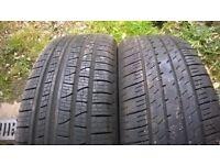 Tyres 4x4 235/35/19 x 2