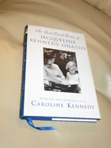 The best Loved Poems of JACQUELINE KENNEDY ONASSIS (hardcover)