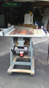 Table saw for sele
