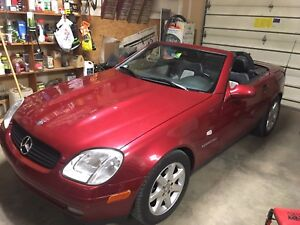 2000 Mercedes-Benz SLK-230 Kompressor