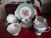 Royal Albert Extremely Rare and Collectable Full Enchantment Teaset