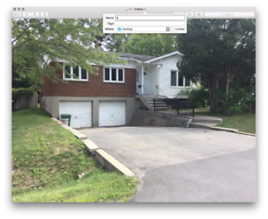 DOUBLE CAR GARAGE BUNGALOW IN PFDS. AVAILABLE IMMEDIATELY!
