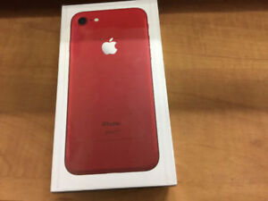 BRAND NEW SEALED IPHONE 7 128 GB RED EDITION