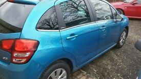 CITROEN C3 FULL YEAR MOT LOW MILES PANORAMIC ROOF ONE YEAR MOT