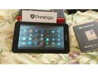 "Prestigio 7"" android tablet 8gb 4.4.2 dual cam wifi bluetooth"