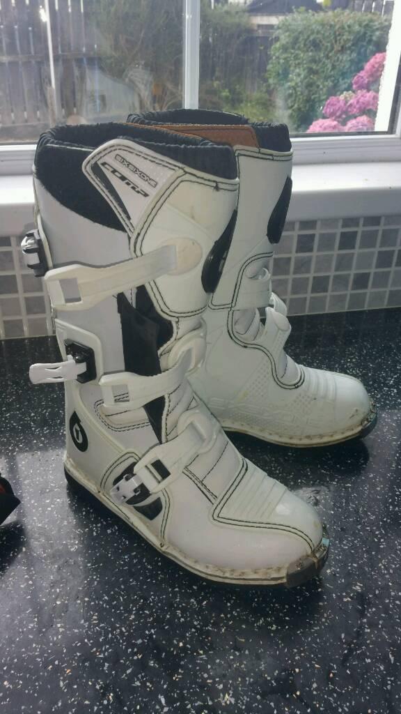 Motorbike boots eu34 kids