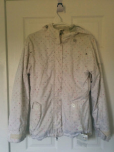 Manteau Billabong blanc