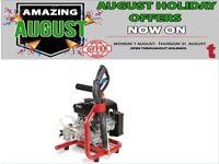 PROPLUS 3HP MINI PETROL PRESSURE WASHER & PUMP LIFTS FROM BARREL SCRAMBLER BIKE