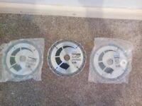 3 x Circular Saw Blades - Toolpak, TCT Circular Blades 184mm x 30mm x 20t